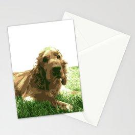 Cocker spaniel dog Stationery Cards