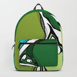 Green dive plongeon vers Backpack