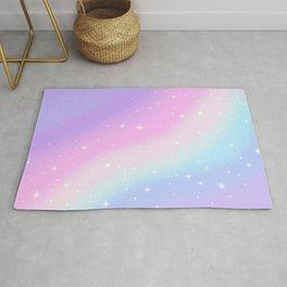 Kawaii Rainbow Magic Rug