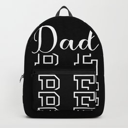 Best Dad Father's Day Grandpa Backpack