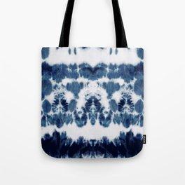 Shibori Not Sorry Tote Bag