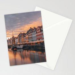 Nyhavn, Copenhagen, Denmark. Stationery Cards