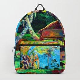 Paul Gauguin Black Pigs Backpack