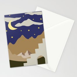 Abstract Landscape #12 Stationery Cards