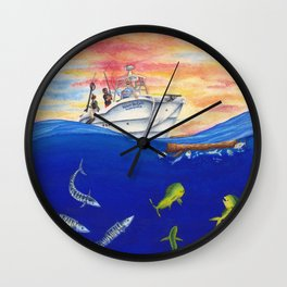Sailor's Delight Wall Clock