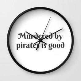 Pirates Wall Clock