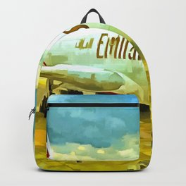 Emirates A380 Airbus Pop Art Backpack