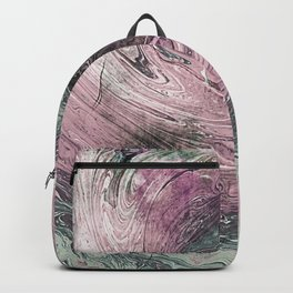 Muted Grapes Ocean Ink Fluid Backpack