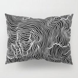 Black Riptide Pillow Sham
