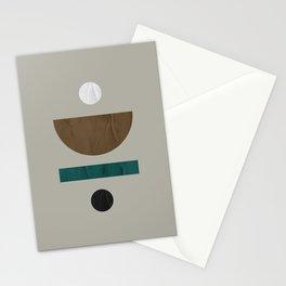 Minimalist Mid Century Modern 60 Stationery Cards