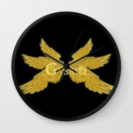 Archangel Gabriel Wings Wall Clock