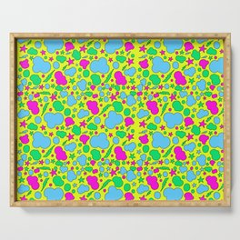 Candy chaotic storm Serving Tray