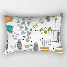 Balancing Triangles Rectangular Pillow