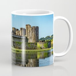 The Towers Of Caerphilly Castle Coffee Mug