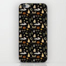 october nights iPhone Skin