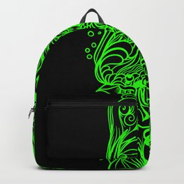 Sleeve Green Strong Backpack