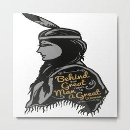 Great Woman Metal Print