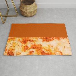 Fiery Orange Rug