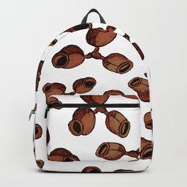 Australian Native Flora - Gumnut Pattern Backpack