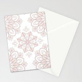 PaleRose Mandalas Stationery Cards