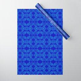 Indigo Batik Wrapping Paper