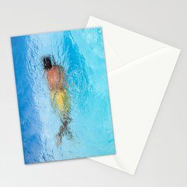 Le nageur  Stationery Cards