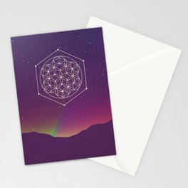 Flower Of Life 2 Stationery Cards