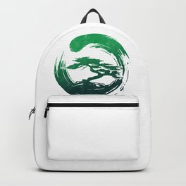 Green Bonsai in Enso Backpack