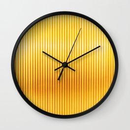 Regal Golden Rods Wall Clock