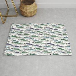 Mackerel pattern Rug