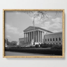 United States Supreme Court Building - 1935 Serving Tray