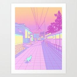 Kyoto Cats Kunstdrucke