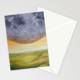 Moon, Landing Stationery Cards
