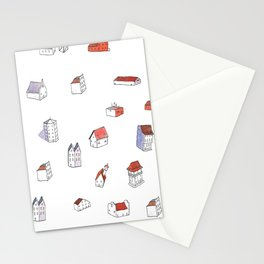 """""""Houses"""" Stationery Cards"""