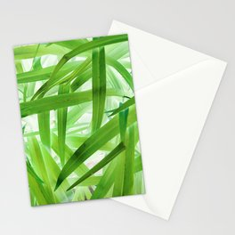 530 - Abstract Grass design Stationery Cards