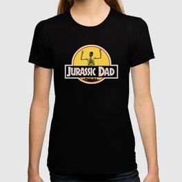 Jurassic Dad Dinosaur Skeleton Funny Birthday Gift 2 T-shirt