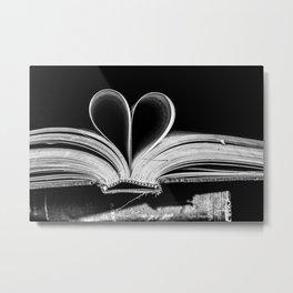 The Heart that Bends doesn't break. Metal Print