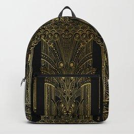 GREEK REVIVAL - BLACK N GOLD Backpack