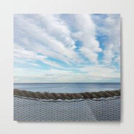 Nautical sunset Metal Print