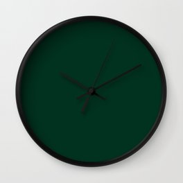 Ultra Deep Emerald Green Color - Lowest Price On Site Wall Clock
