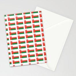 flag of oman ,عمان ,omani,Suwayq,muscat,dishdaska. Stationery Cards