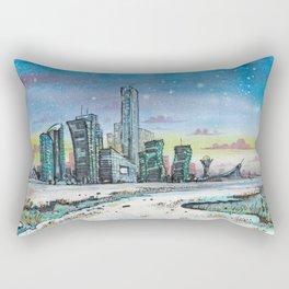 Astana and Winter Rectangular Pillow