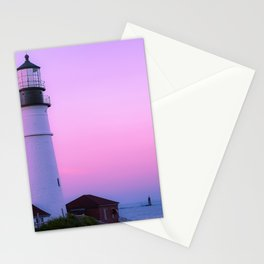 Summer Lighthouse Stationery Cards