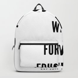 Michelle Obama Quote   For Me Education Was Power Backpack