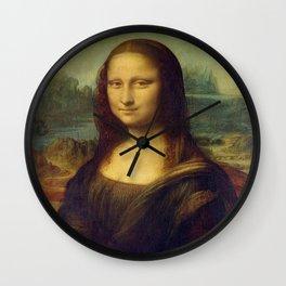Leonardo da Vinci -Mona lisa - Wall Clock