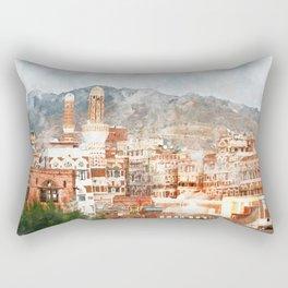 Sana'a, Yemen Rectangular Pillow