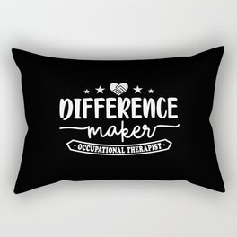 Occupational Therapist - Therapy graphic Rectangular Pillow