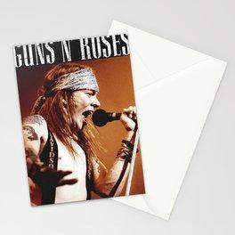 guns n roses tour 2020 ansel6 Stationery Cards
