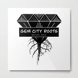 Gem City Roots Logo Metal Print