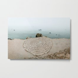 Lands End Labyrinth, San Francisco II Metal Print